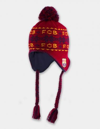 Gorro invierno FC Barcelona