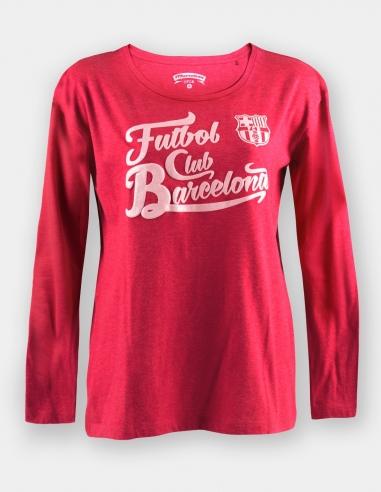Camiseta manga larga FC Barcelona -...