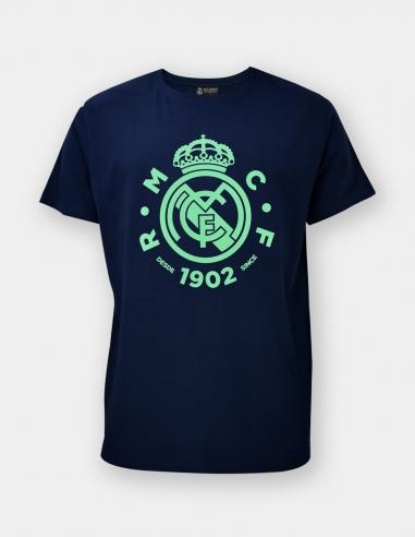 Camiseta escudo Real Madrid - Júnior