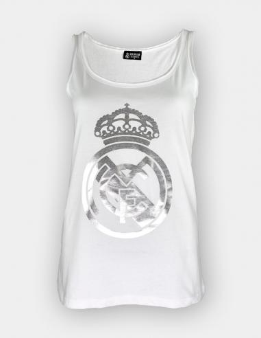 Camiseta tirantes Real Madrid - Mujer