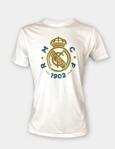 Camiseta escudo Real Madrid