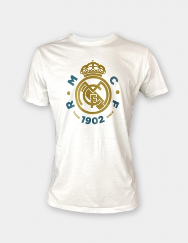 Camiseta escudo Real Madrid - Júnior
