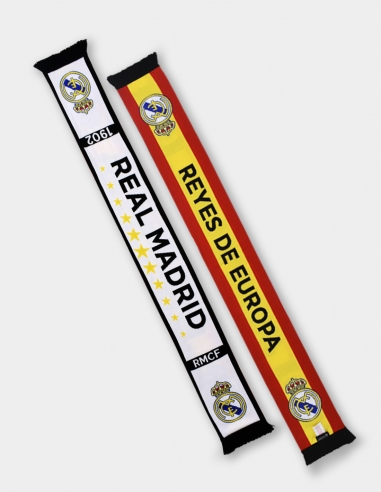 "Bufanda doble cara Real Madrid ""Reyes..."