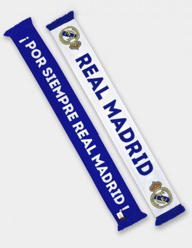 """Bufanda doble cara Real Madrid """"¡Por..."""