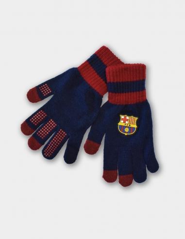 Guantes táctiles FC Barcelona - Talla S