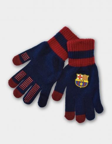 Guantes táctiles FC Barcelona - Talla L