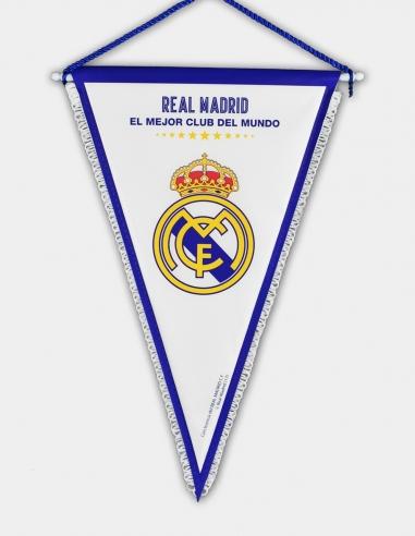 """Banderín Real Madrid """"El Mejor Club..."""