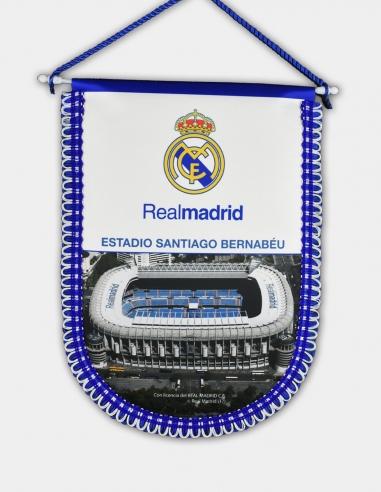 Banderín Real Madrid estadio Santiago...