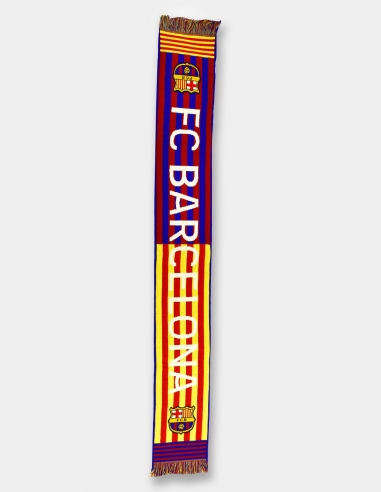 "Bufanda FC Barcelona ""Senyera"""