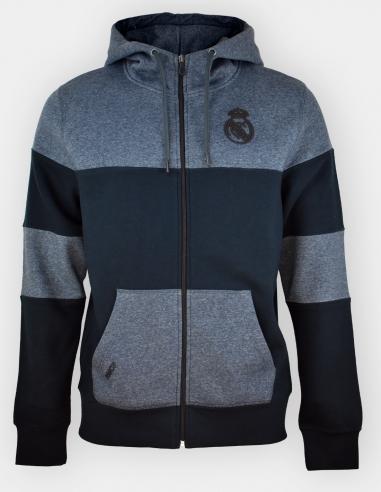 Sudadera abierta con capucha Real Madrid