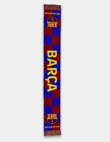 """Bufanda FC Barcelona """"Més que un club"""""""